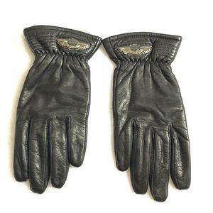 🍋Harley-Davidson Leather Gauntlet Gloves🍋